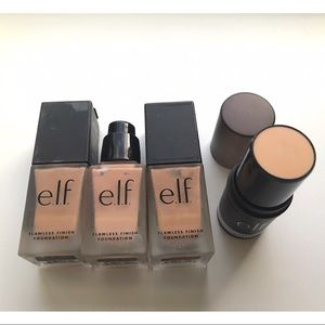ELF foundation + Blur stick Makeup Lot